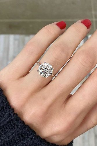 39 Amazing Simple Engagement Rings | Wedding Forward