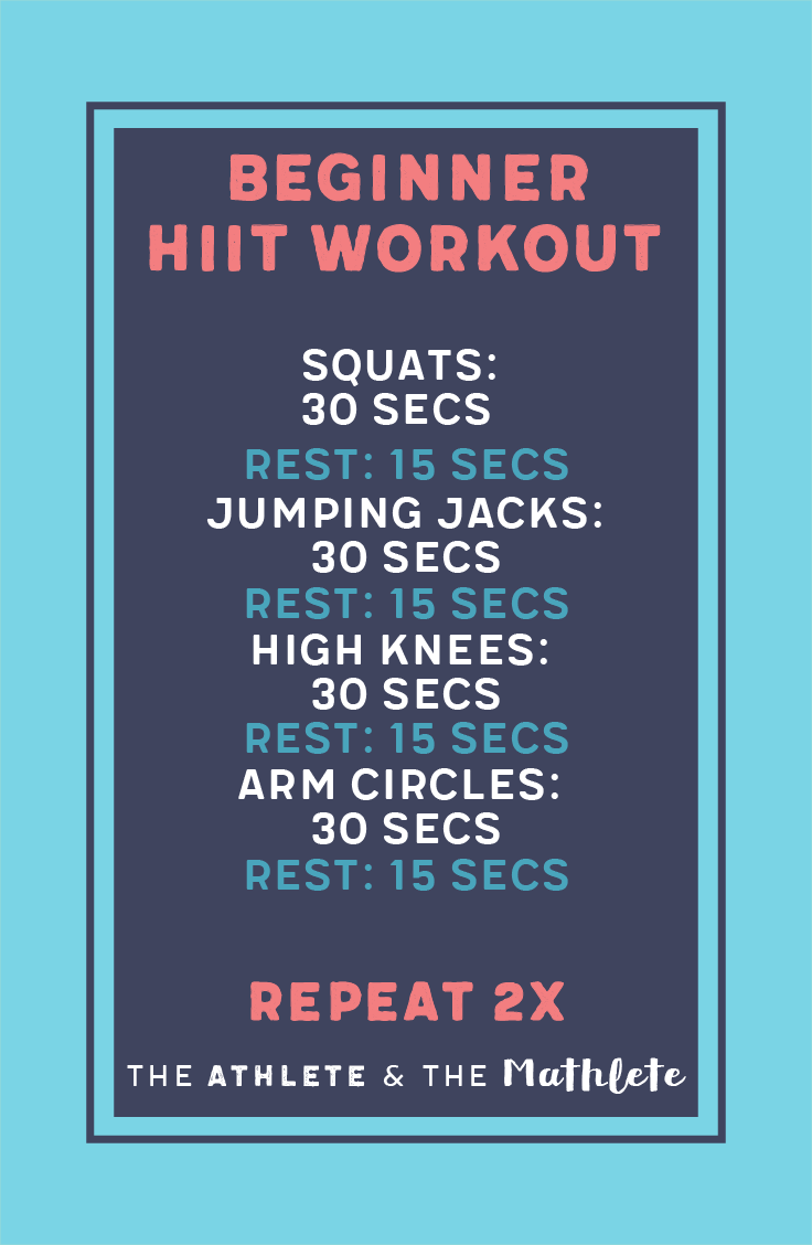HIIT for Beginners: Burn calories quickly | Hiit for ...
