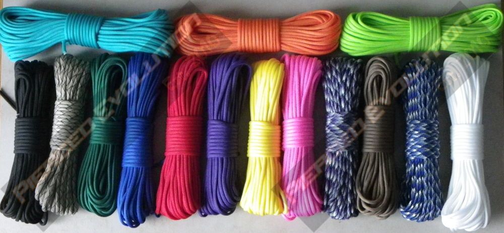 Details About 550 Paracord 7 Inner Strands Mil Spec Type Iii