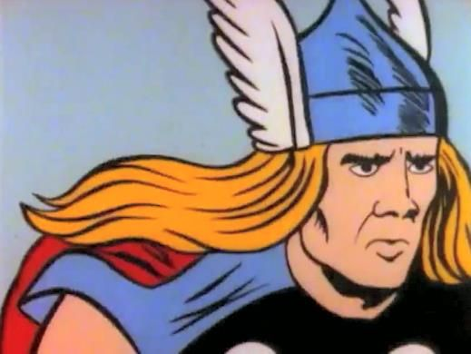 Nicolas Cage Thor LOL