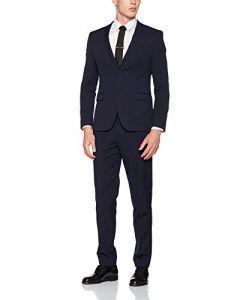 s oliver herren anzug 23707848302 blau black blue 5990. Black Bedroom Furniture Sets. Home Design Ideas
