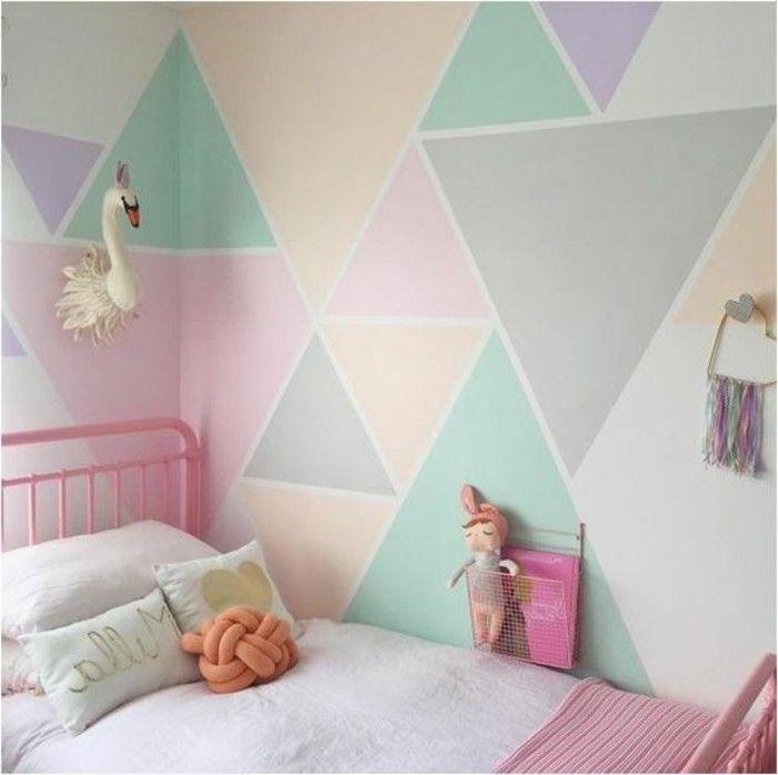 Photo of Geometrische Formen – tolle Wandgestaltung mit Farbe – Archzine.net