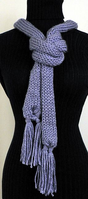 Ravelry: Super Easy Pocket Knitter Scarf pattern by Carrie Carpenter ...