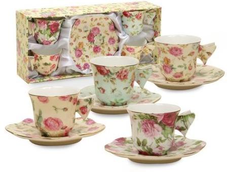 tea cups with butterfly handles | Crazy Tea Chick | Tea, Tea Reviews ...