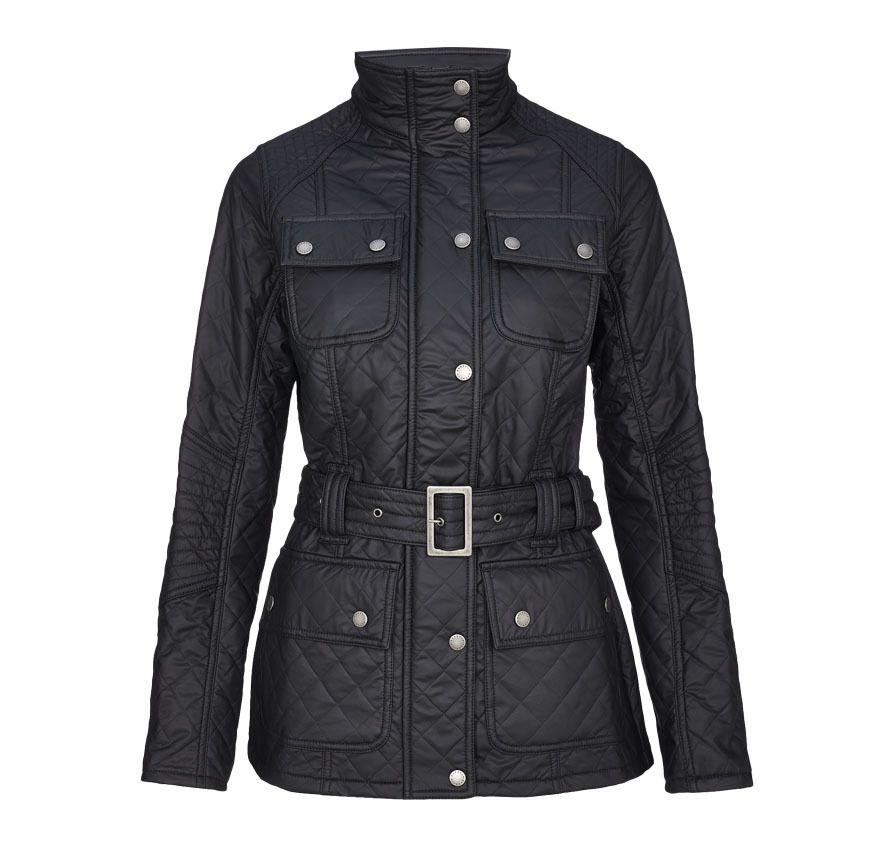 Barbour Transmission Quilted Jacket Black
