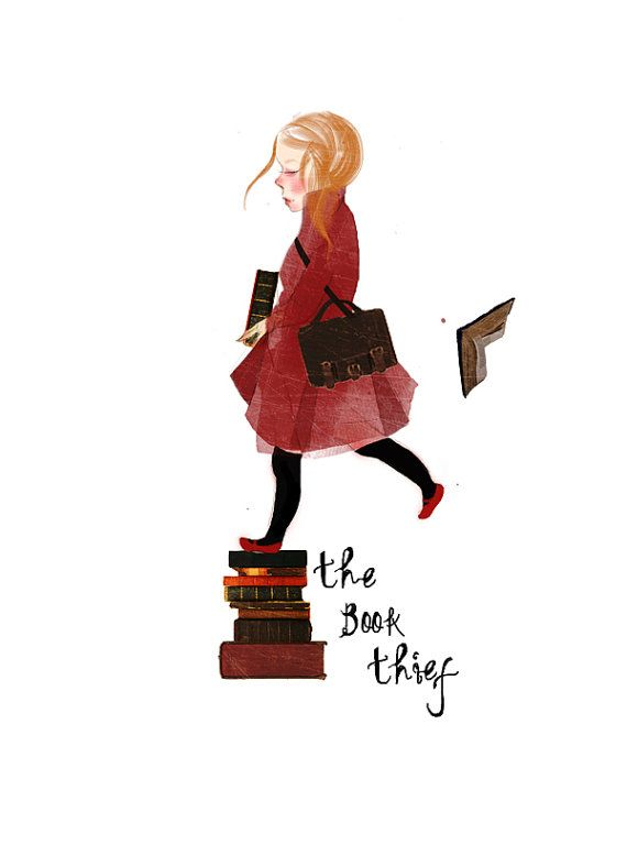 The Book Thief Art Print The Book Thief Homage Fan by mittenbunny ...