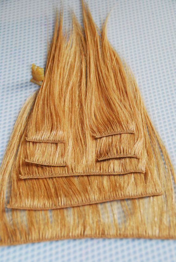 Full set clip in human hair extensions 1012 by TokidokiXtensions, $23.00