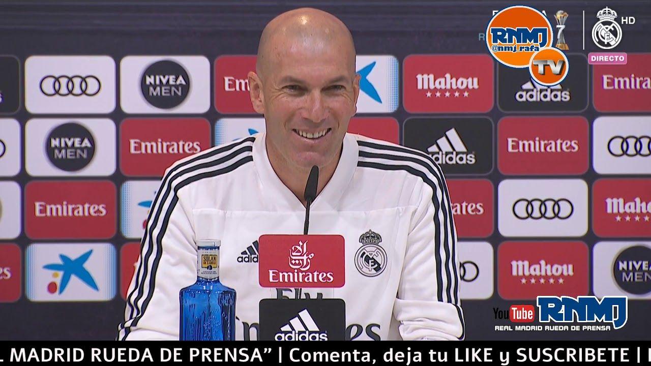 Rueda De Prensa De Zidane Previa Real Madrid Celta De Vigo Liga Jornad Rueda De Prensa Real Madrid Zidane