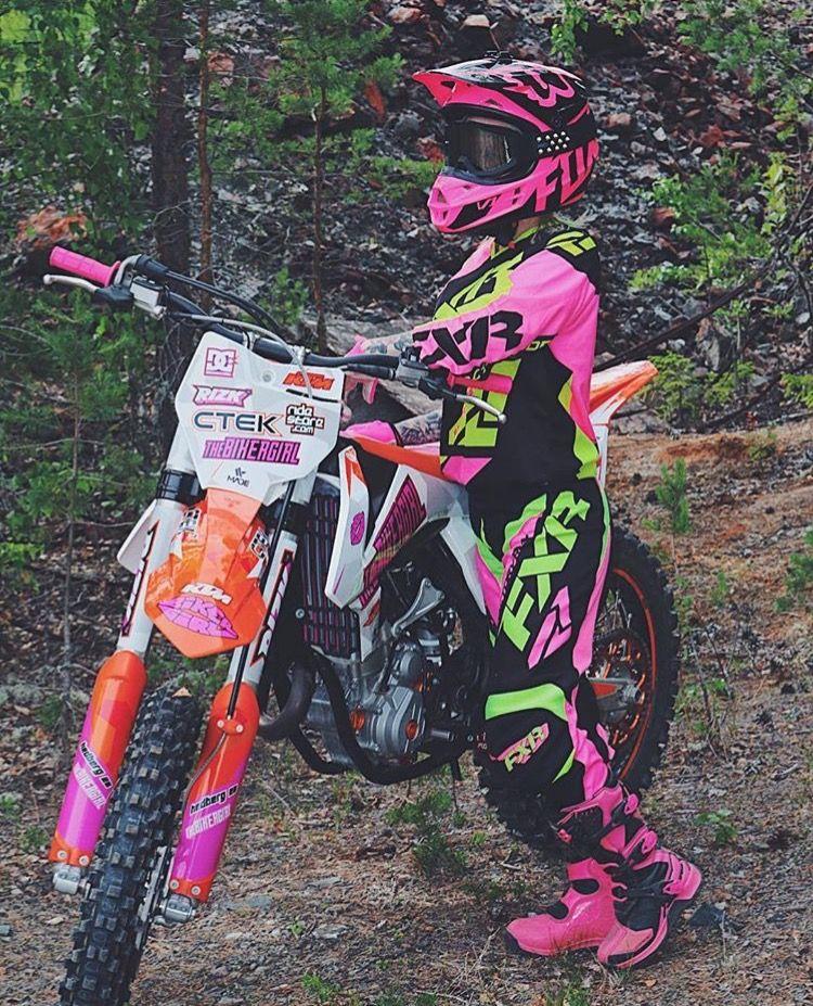 Épinglé par Jessy Mercier sur Biker | Filles motocross, Moto
