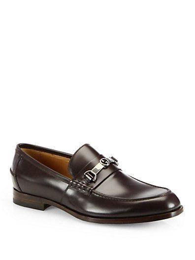 b4aaf756512 Gucci - Taras Leather Horsebit Loafer - Saks.com