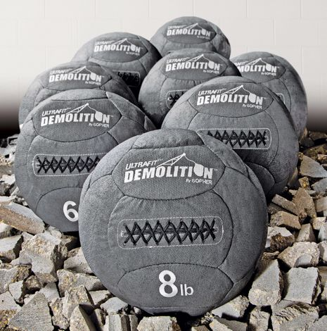 Ultrafit Demolition Medicine Ball Gopher Sport Medicine Balls Medicine Ball Exercise For Kids