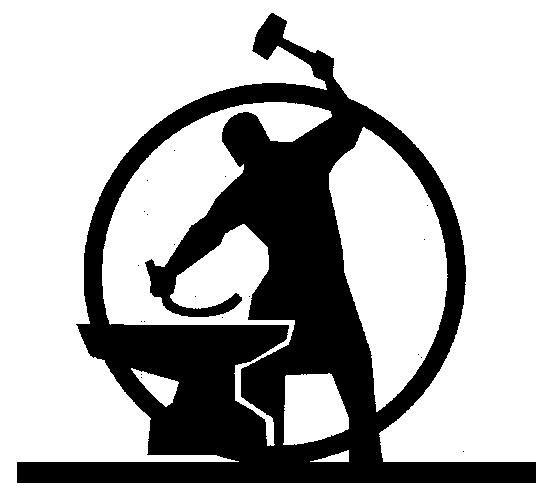 Blacksmith Vintage Emblems: Blacksmithing, Metal Working, Metal Art