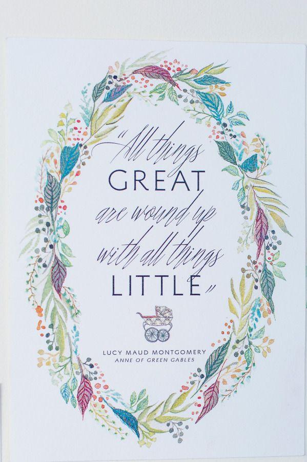 Anne Of Green Gables Inspired Baby Shower Green Gables