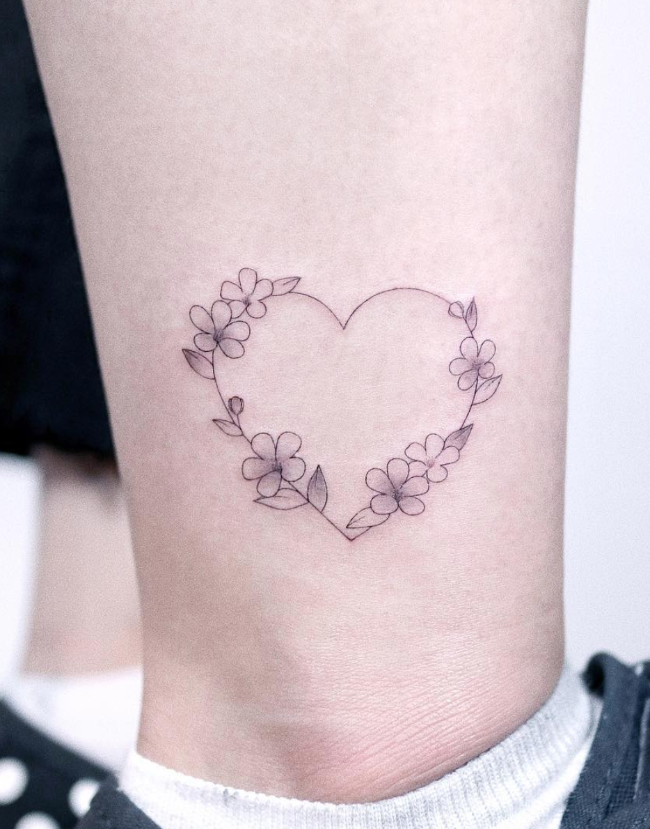 Linework Heart Tattoo Designs Heart Tattoo Designs Love Heart Tattoo Heart Tattoo