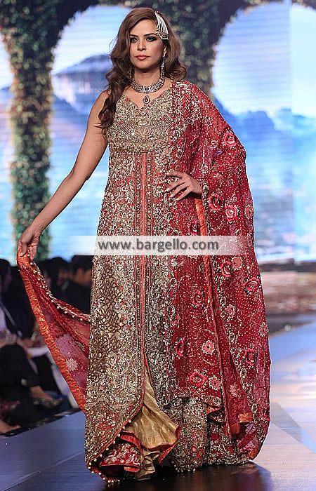 Latest Indian Pakistani Bridal Gowns Bridal Dresses Dubai UAE ...