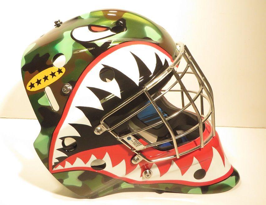 Custom Airbrused Goalie Masks
