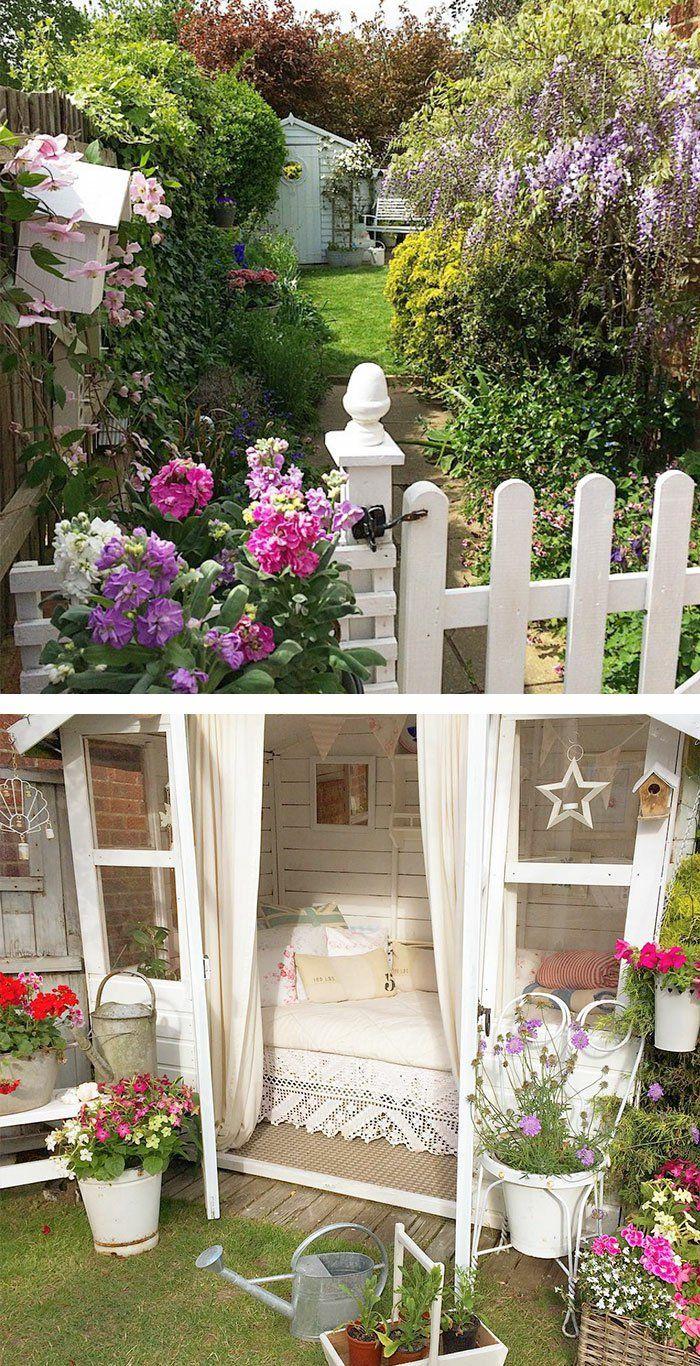 Gartenhaus Inspiration 23 originelle Ideen für Ihre Ruhe