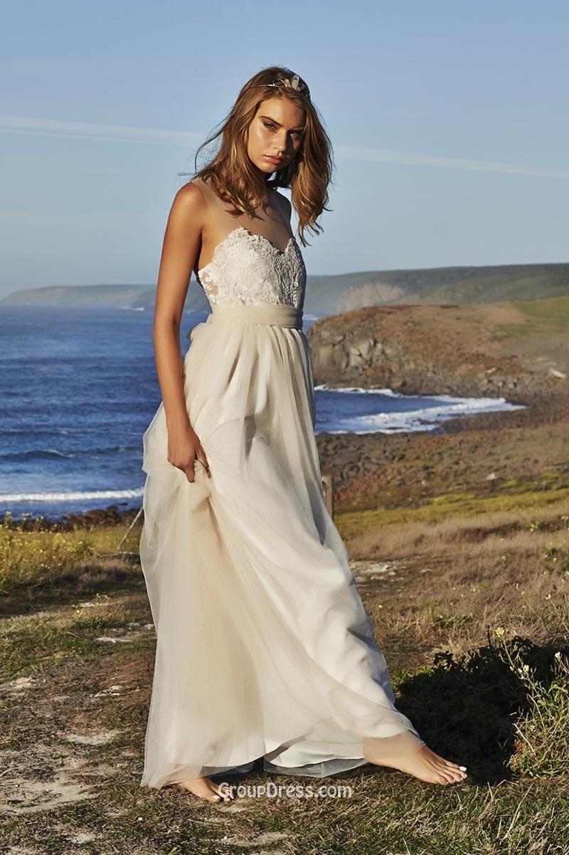 Champagne Casual Beach Wedding Dress Google Search Casual Beach Wedding Dress Lace Beach Wedding Dress Short Wedding Dress Vintage
