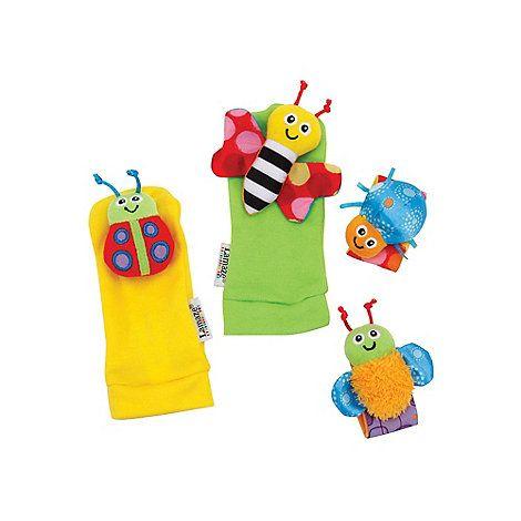 Lamaze Gardenbug Wrist Rattle Footfinder Set Debenhams Baby Toys Rattles Baby Products 2017 Baby Gift Sets