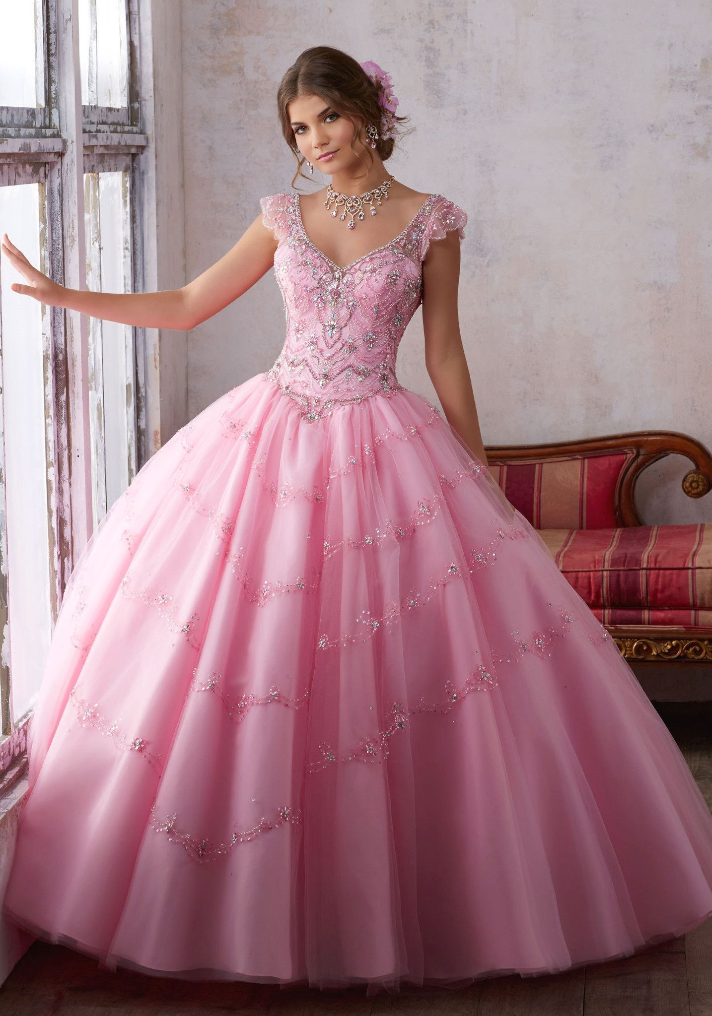 Mori Lee Quinceanera Dress 89136 | Pinterest | Vestido de 15 año, 15 ...