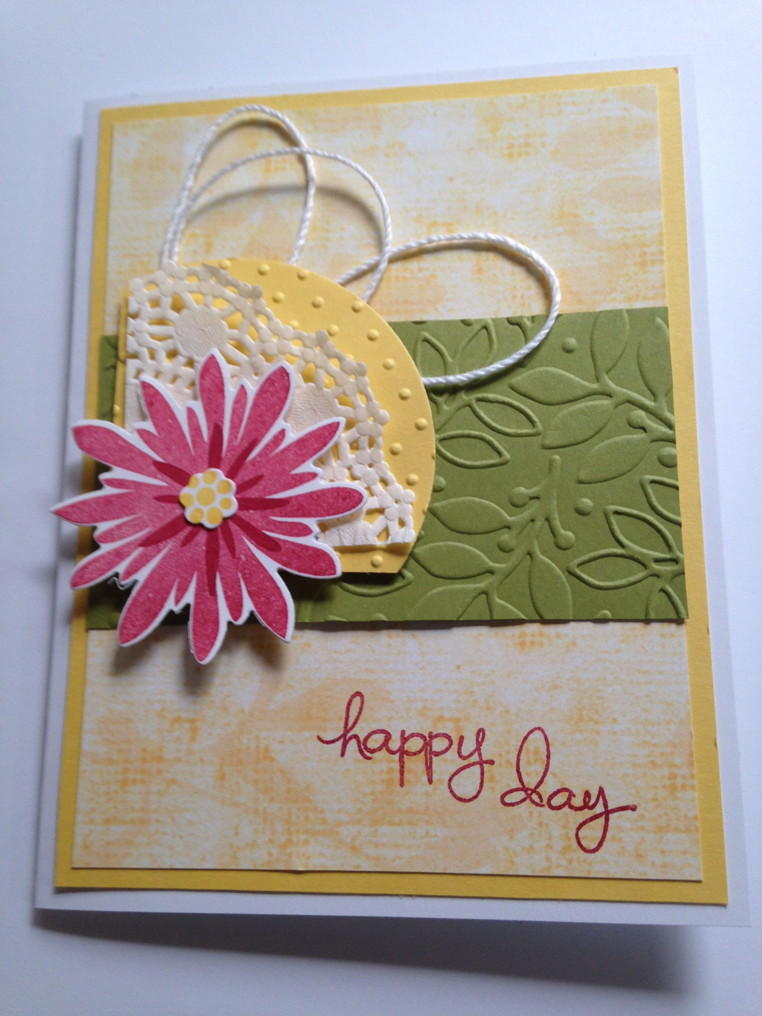 Flower patch and endless birthday wishes stamp sets daffodil