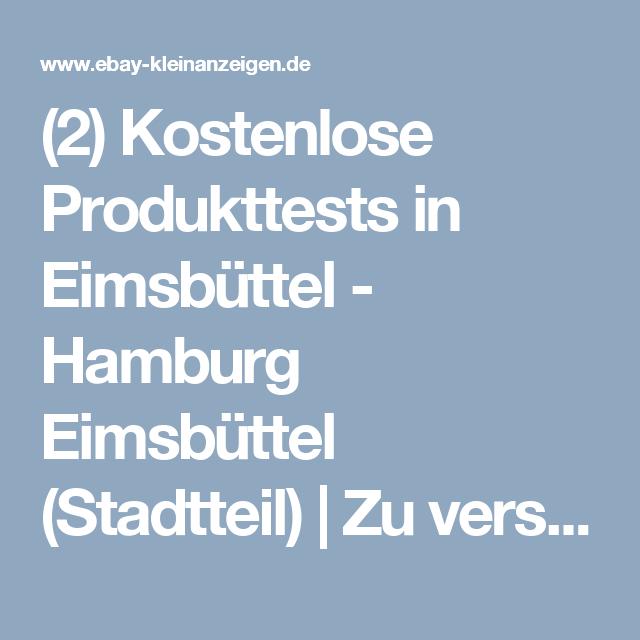 2 Kostenlose Produkttests In Eimsbuttel Hamburg Eimsbuttel