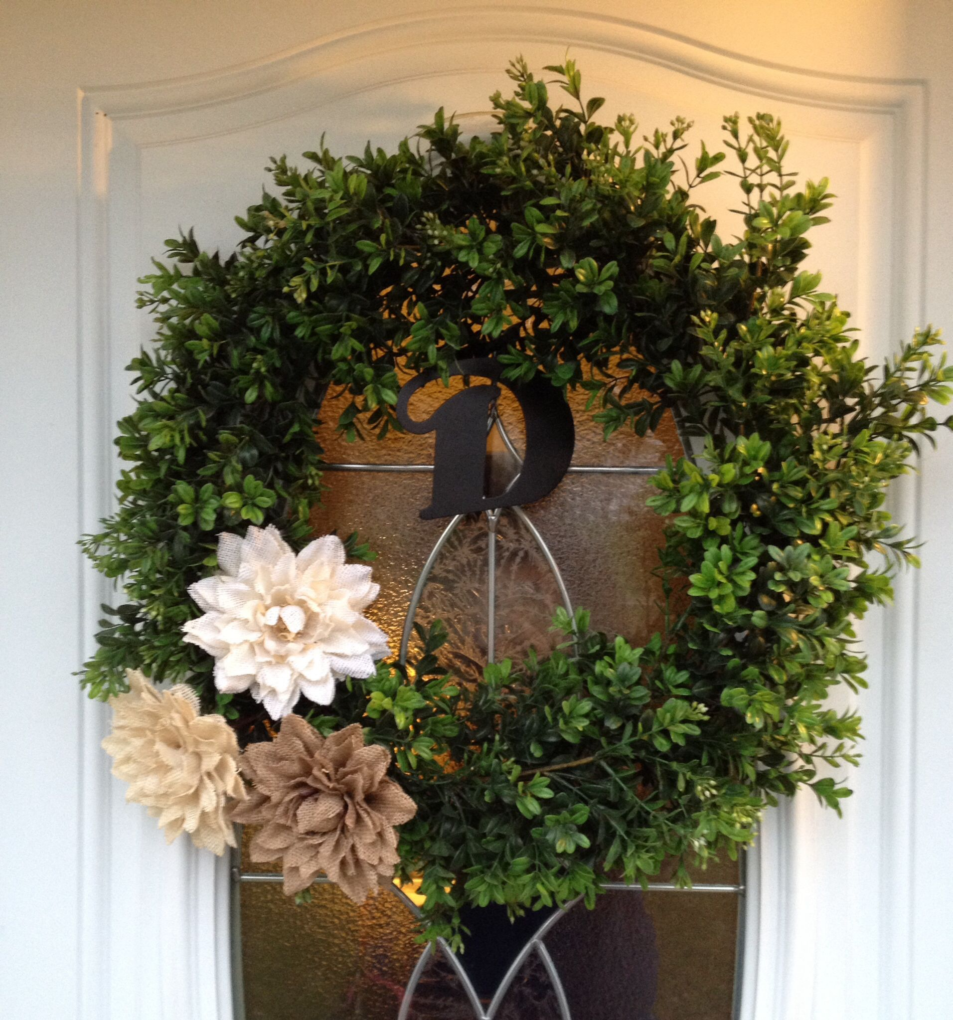 13 Lush Spring Wedding Decorations To Bring To Life Your: Spring Wreath, Grapevine Wreath, Wreaths