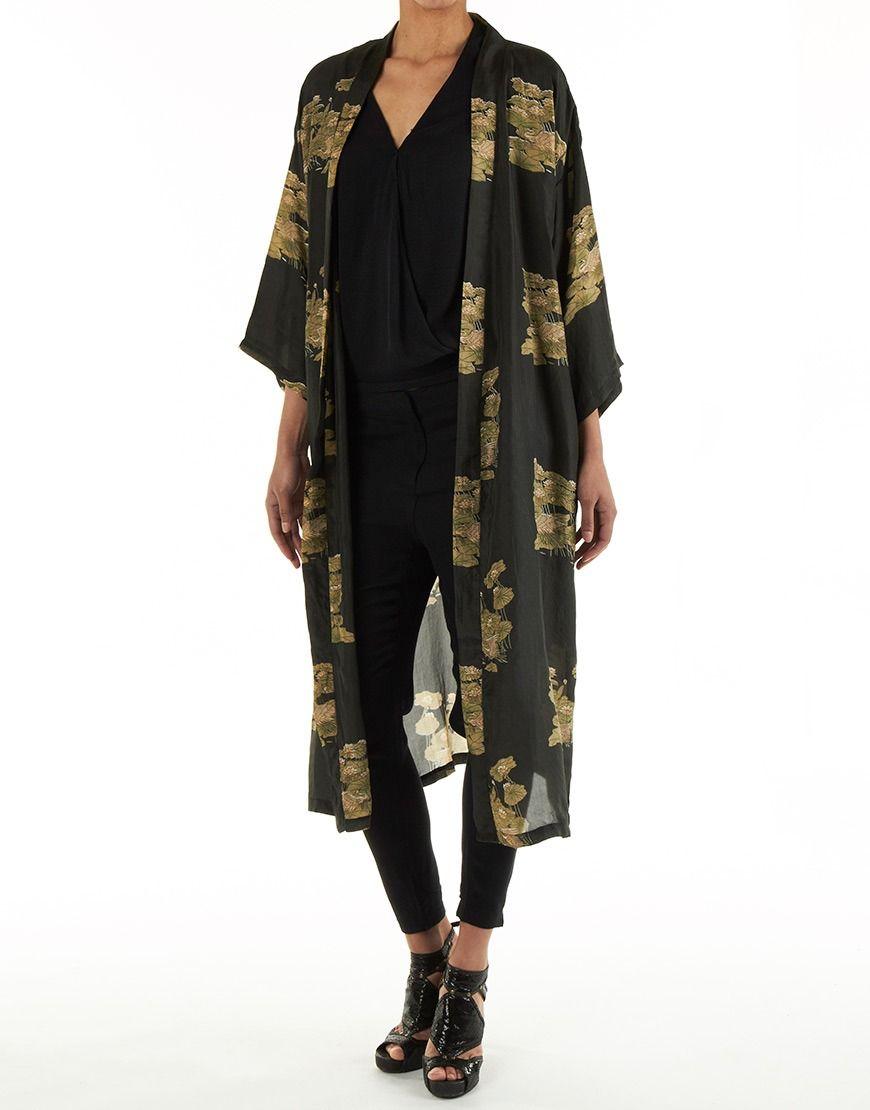 Rabens saloner kimono ss15 pinterest long kimono kimono en vest - Rabens saloner online shopping ...
