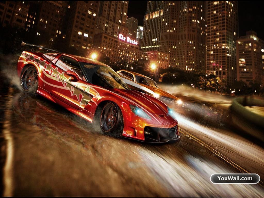 Sport Racing Car Speed HD POSTER
