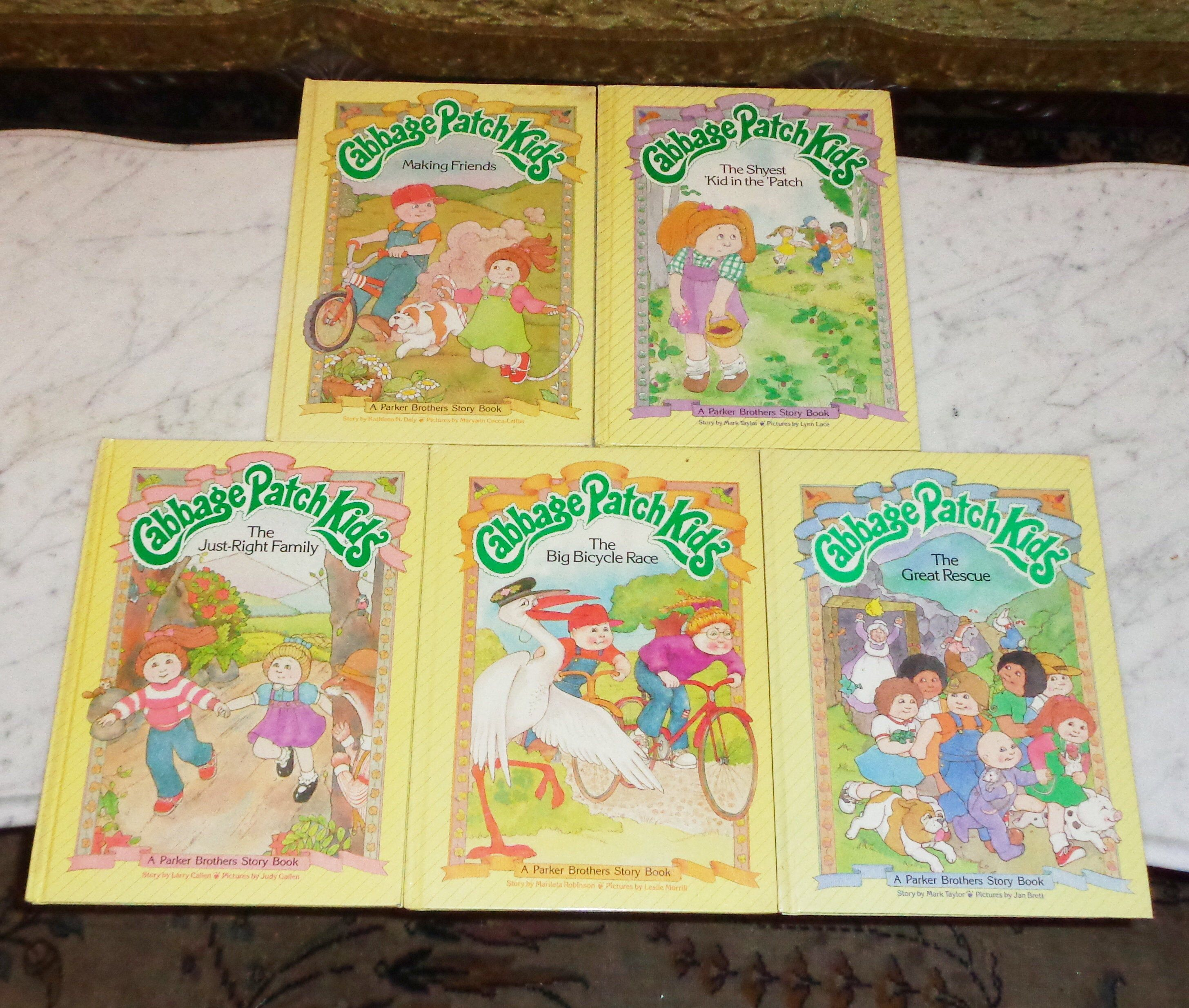 1984 Cabbage Patch Kids Books Just Right Family Great Rescue Etsy Cabbage Patch Kids Shy Kids Patch Kids