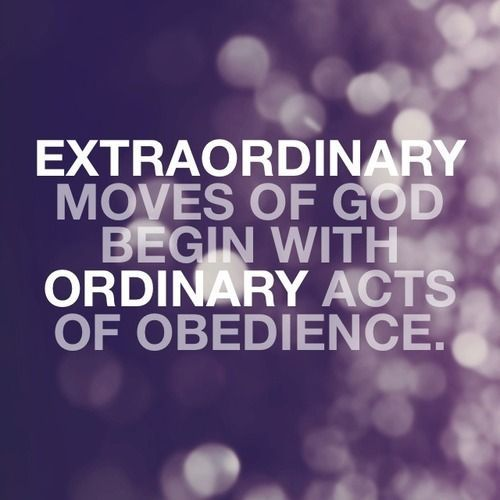 ESTRAORDINARY MOVES OF GOD BEING WITH.....