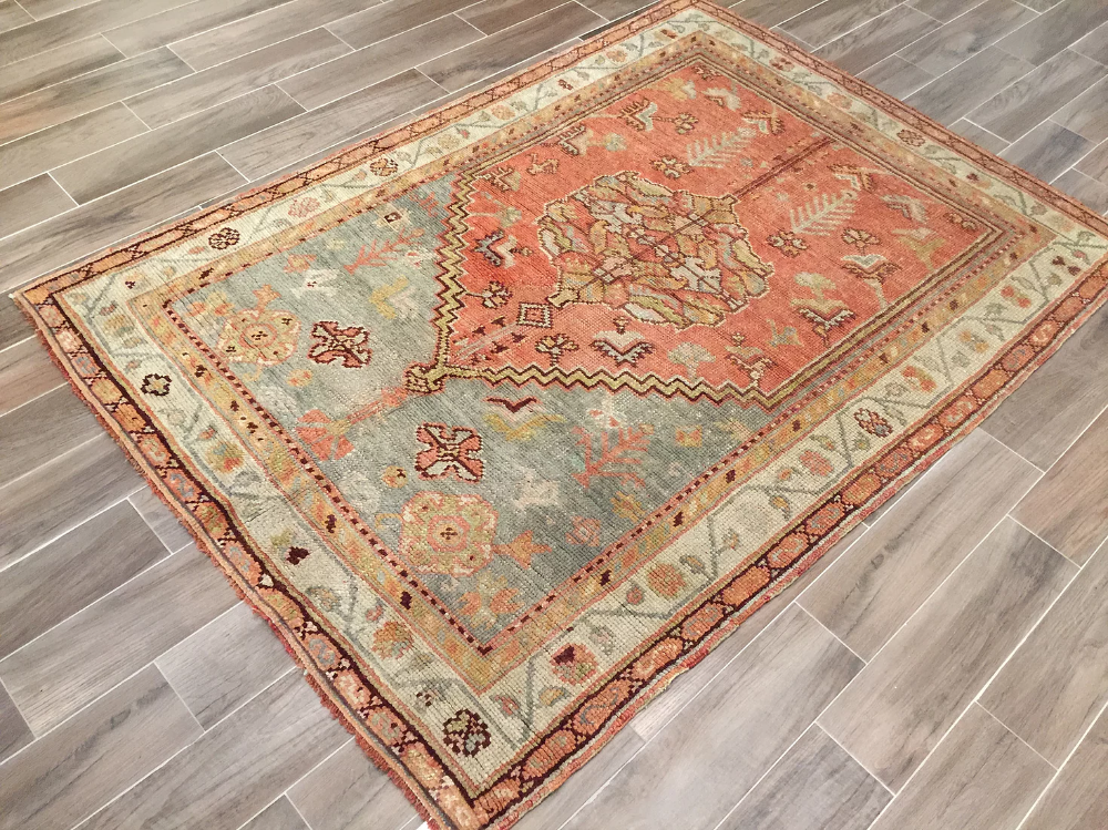 Turkish Oushak 4 11x7 1 Kaskas Rugs