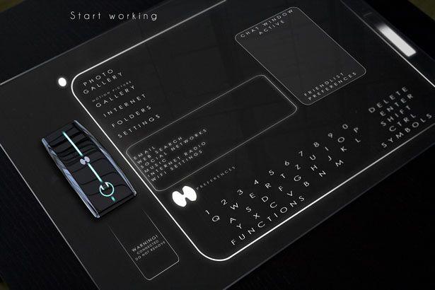 L Ordinateur Du Futur By Jakub Zahor Technologie Futuriste Technologie Science Technologie