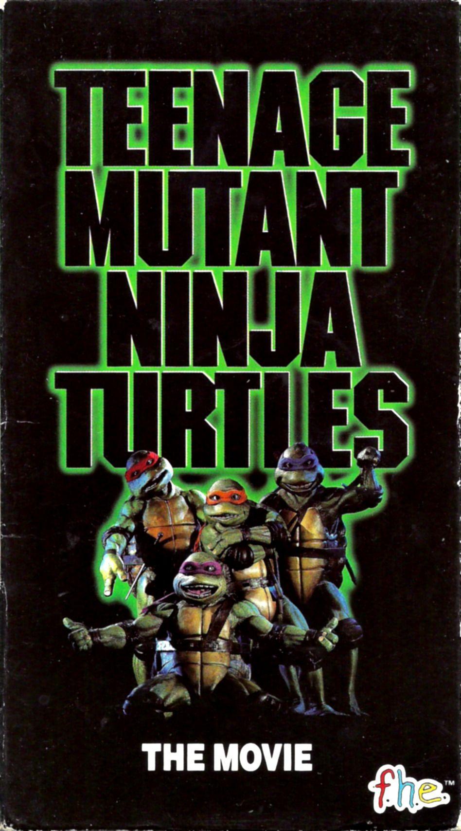 Teenage Mutant Ninja Turtles Movie 1990 Vhs Vhs Hi Fi Teenage Mutant Ninja Tur Teenage Mutant Ninja Turtles Teenage Mutant Ninja Turtles Movie Ninja Turtles