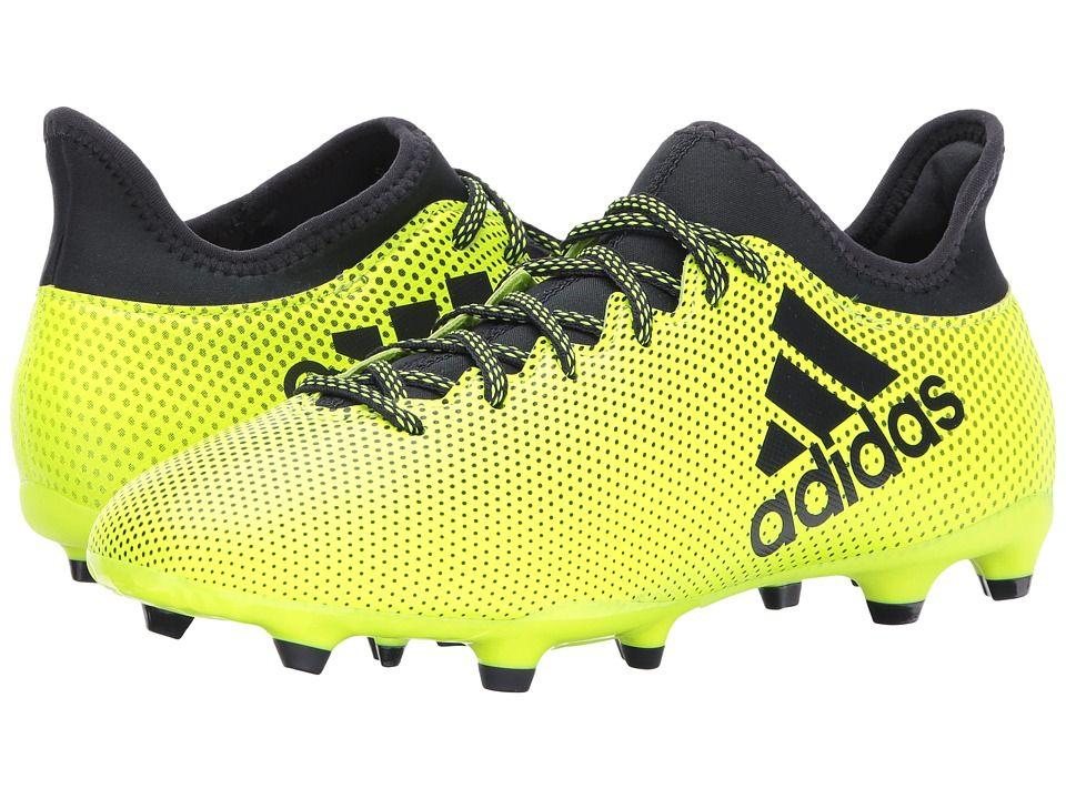 adidas X 17.3 FG Men's Soccer Shoes Solar Yellow/Legend