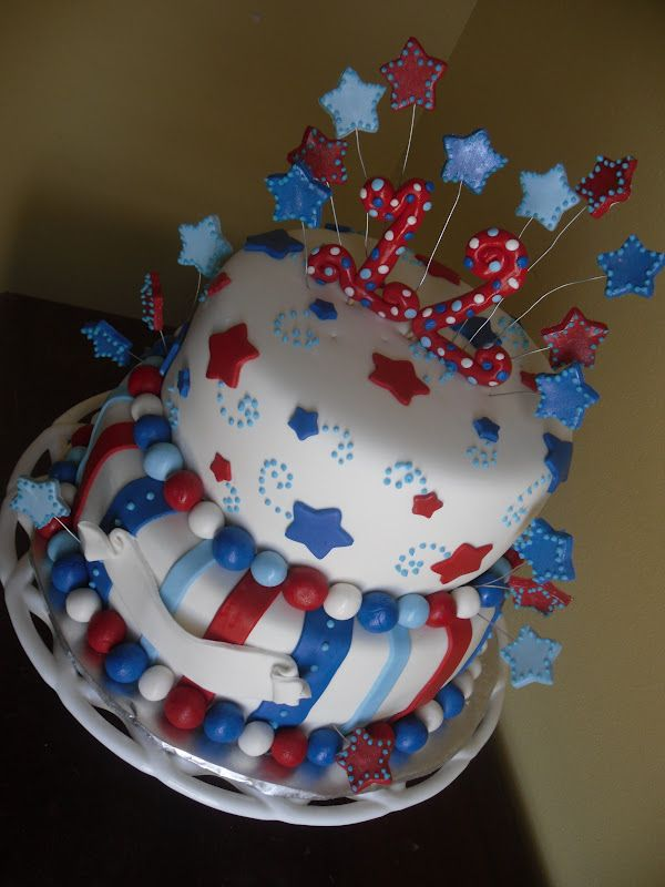 4th July Birthday Cakes