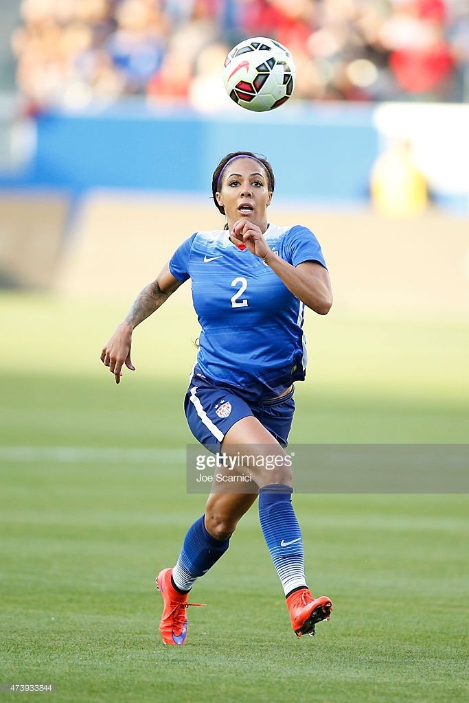 Forward Sydney Leroux Of Usa In Action During Their International