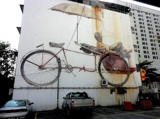 STREETSMART / George Town / We can give you the answer in two words: Ernest Zacharevic / streetsmart319.bl...