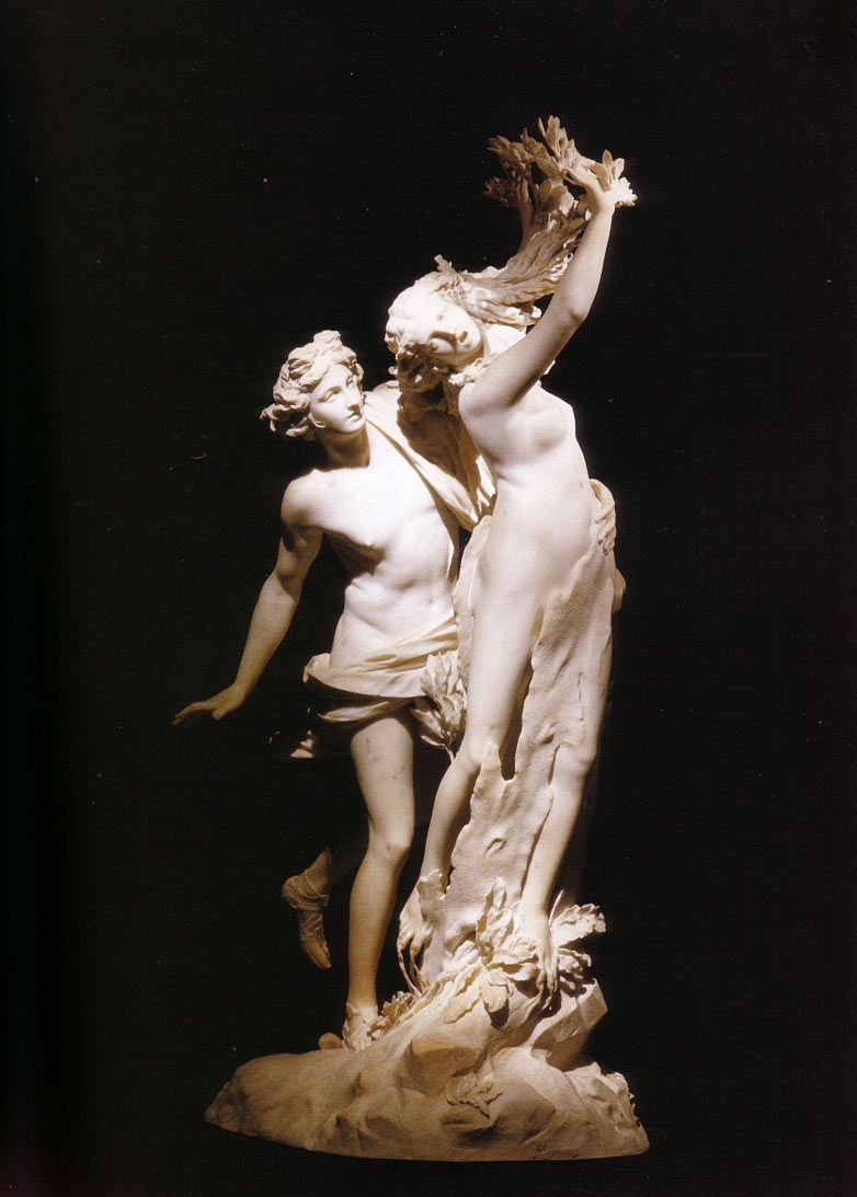 Apollo and Daphne.  I still can't believe those leaves are MARBLE!