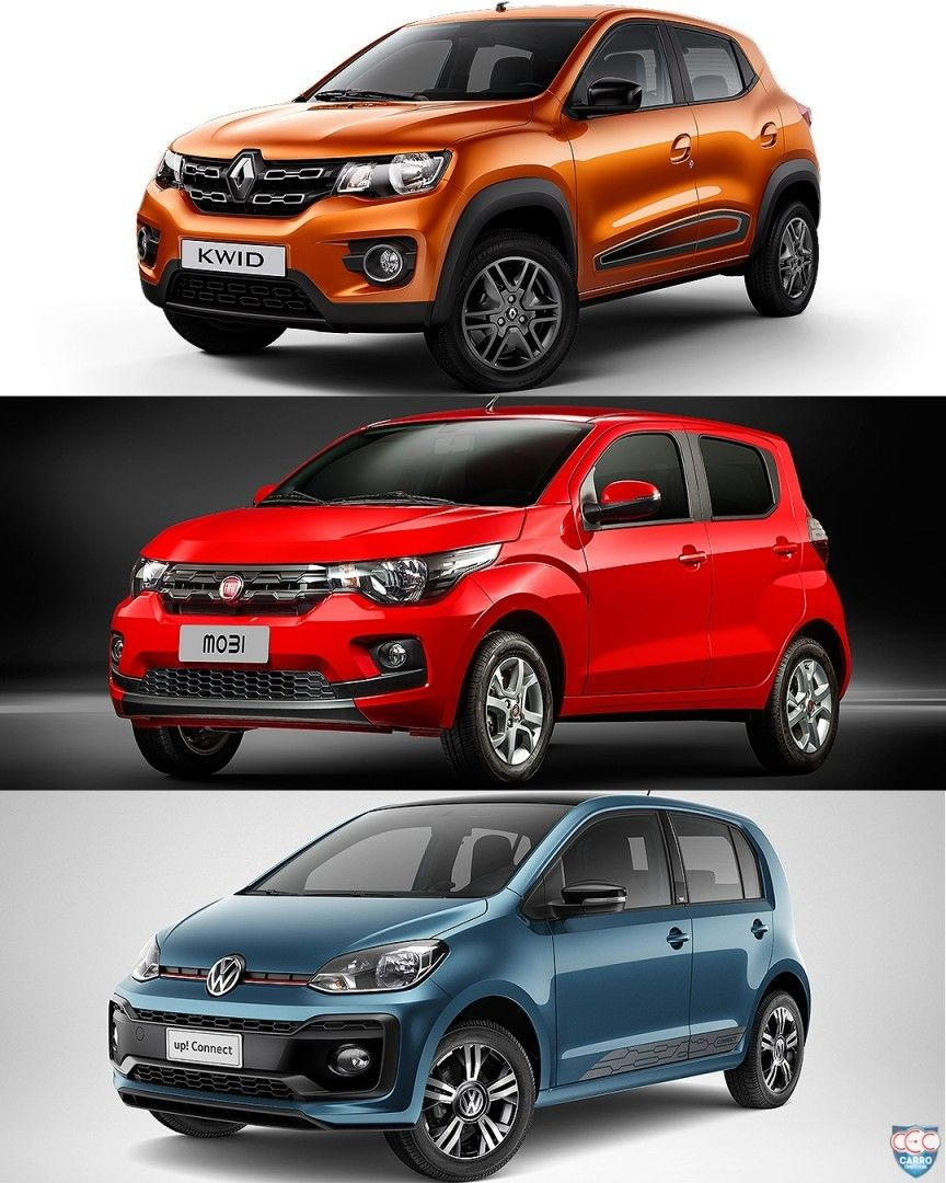 Renault Kwid X Fiat Mobi X Volkswagen Up Sera Que A Novidade Da