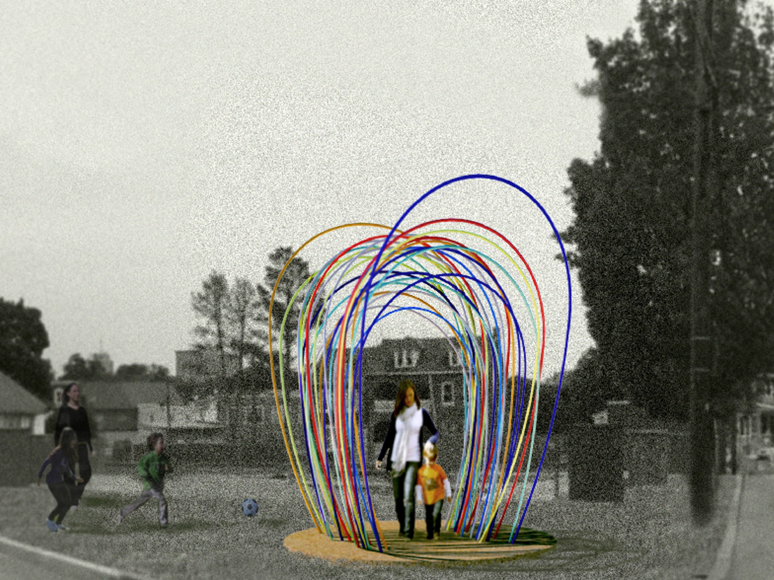 Dancing Arches at Rodney Park by Tracy Beyl — Kickstarter