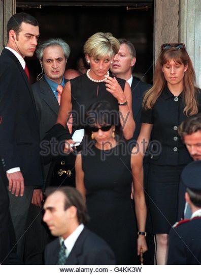 Diana/Versace's memorial - Stock Image