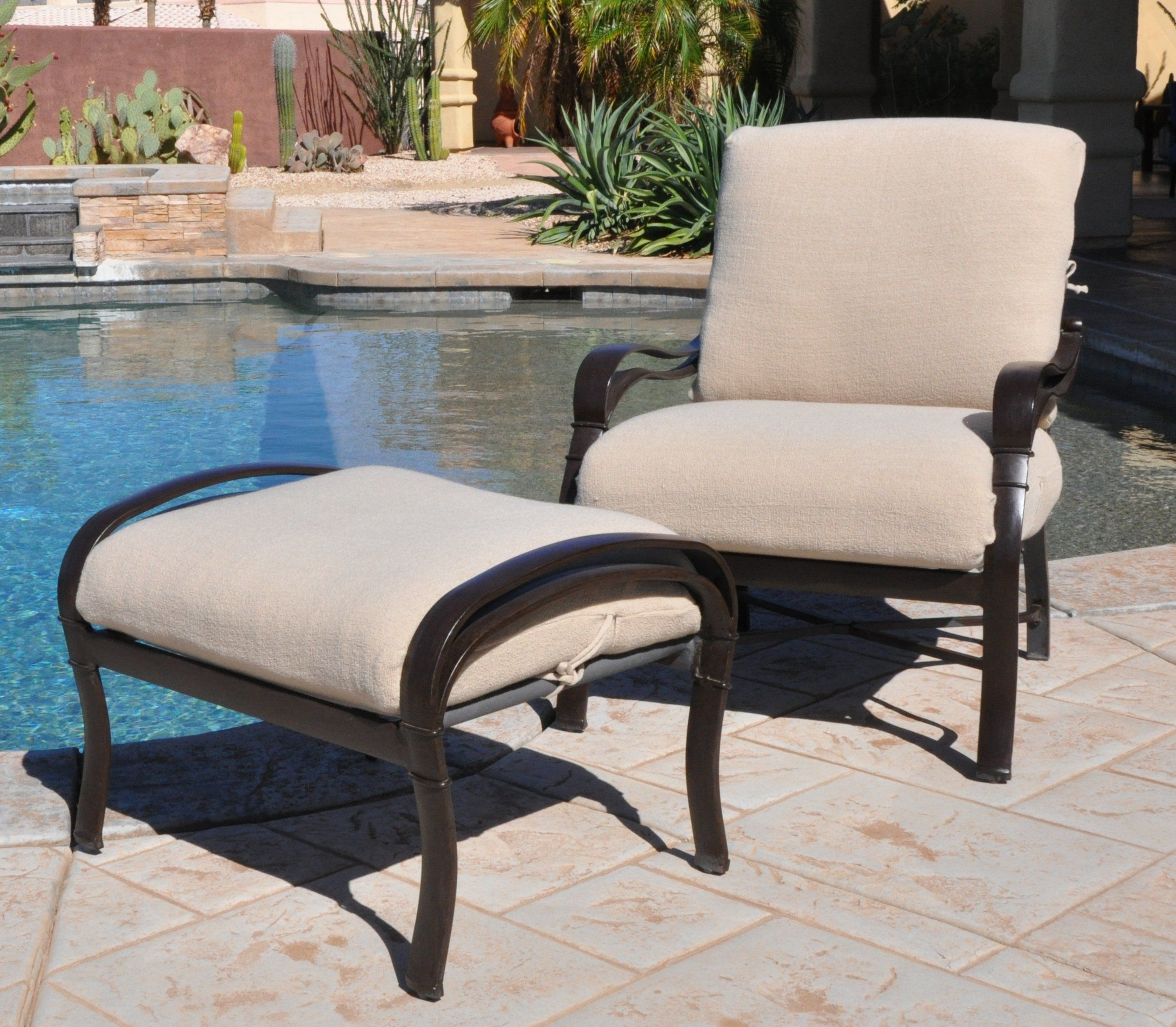 Cushychic outdoor terry slipcovers for deep seat patio