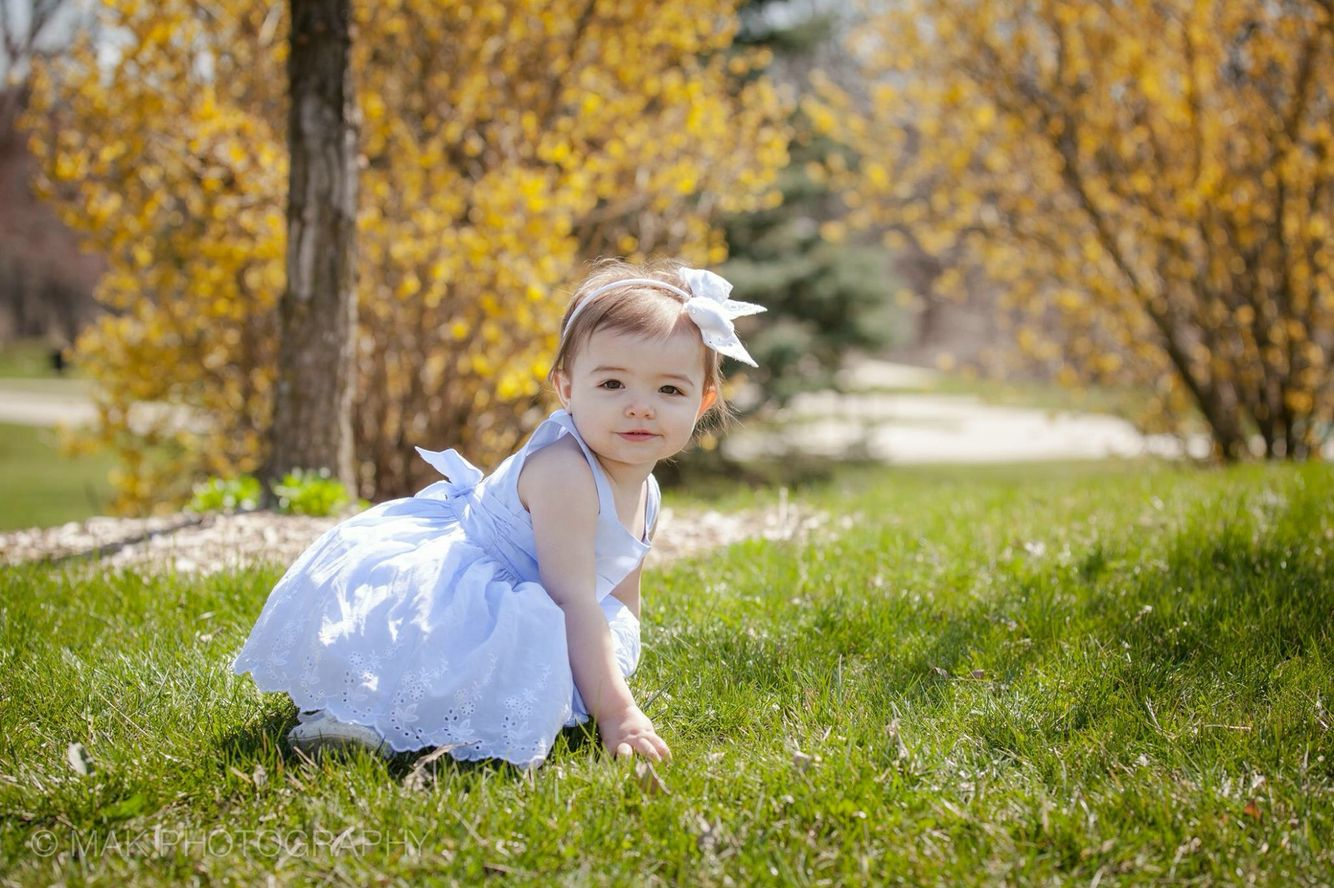 Beautiful spring 1 year old pictures
