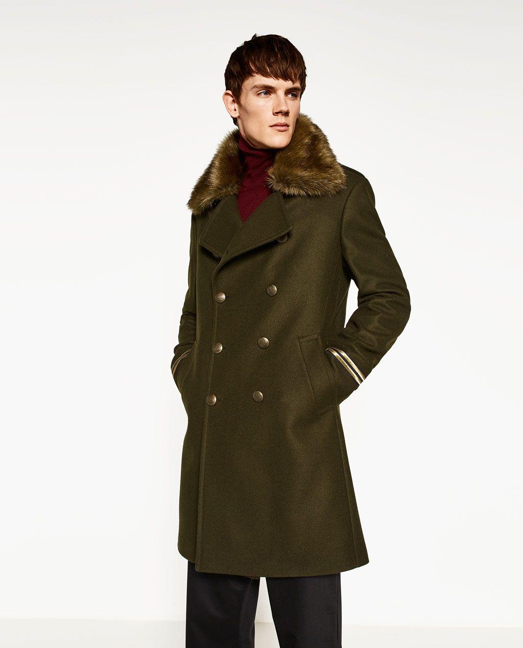 Imagen De Pinterest Angry Militar Zara Fashion Abrigo 2 TaqwHRxT