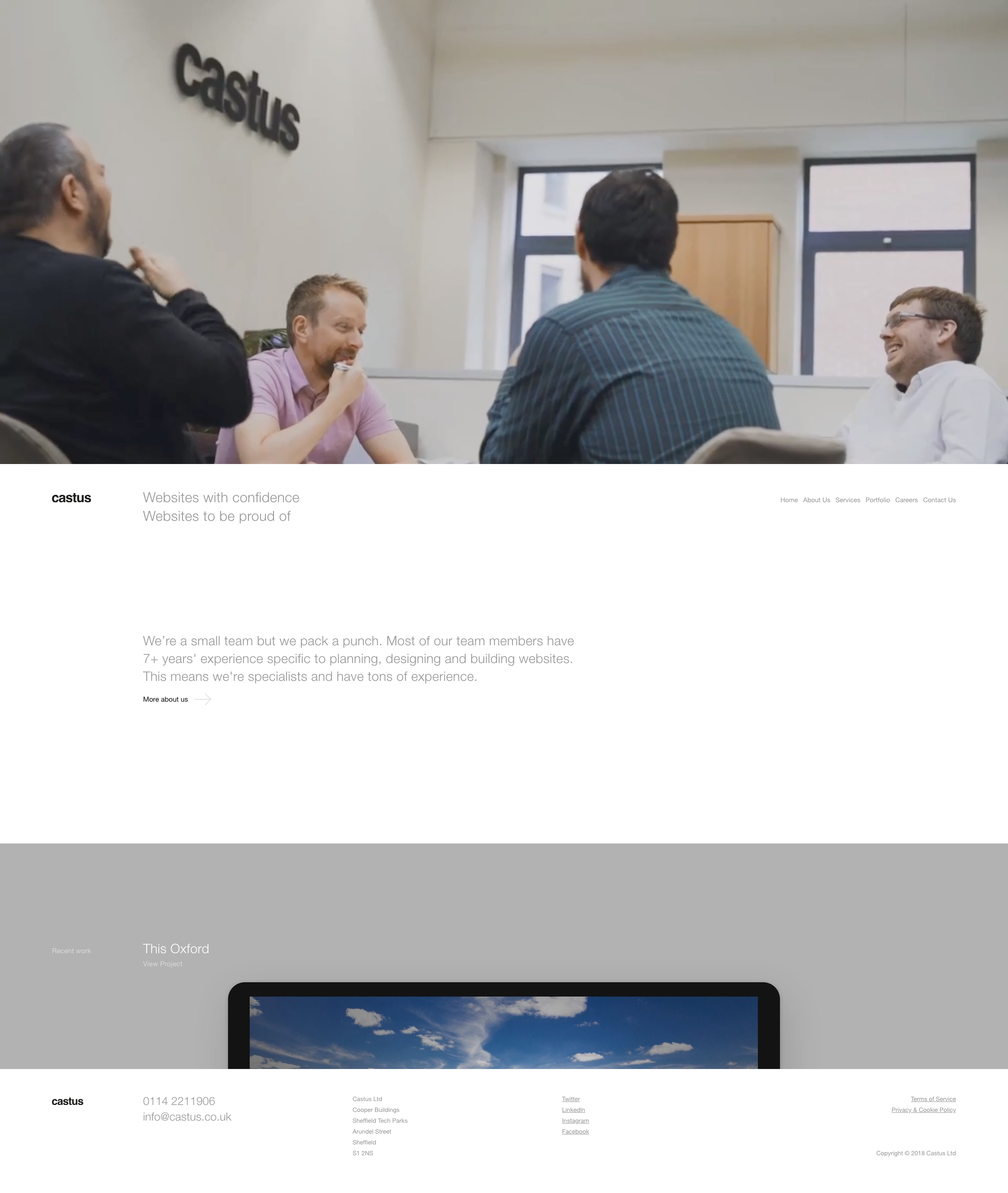 Castus Web Design Web Design Agency Website Design
