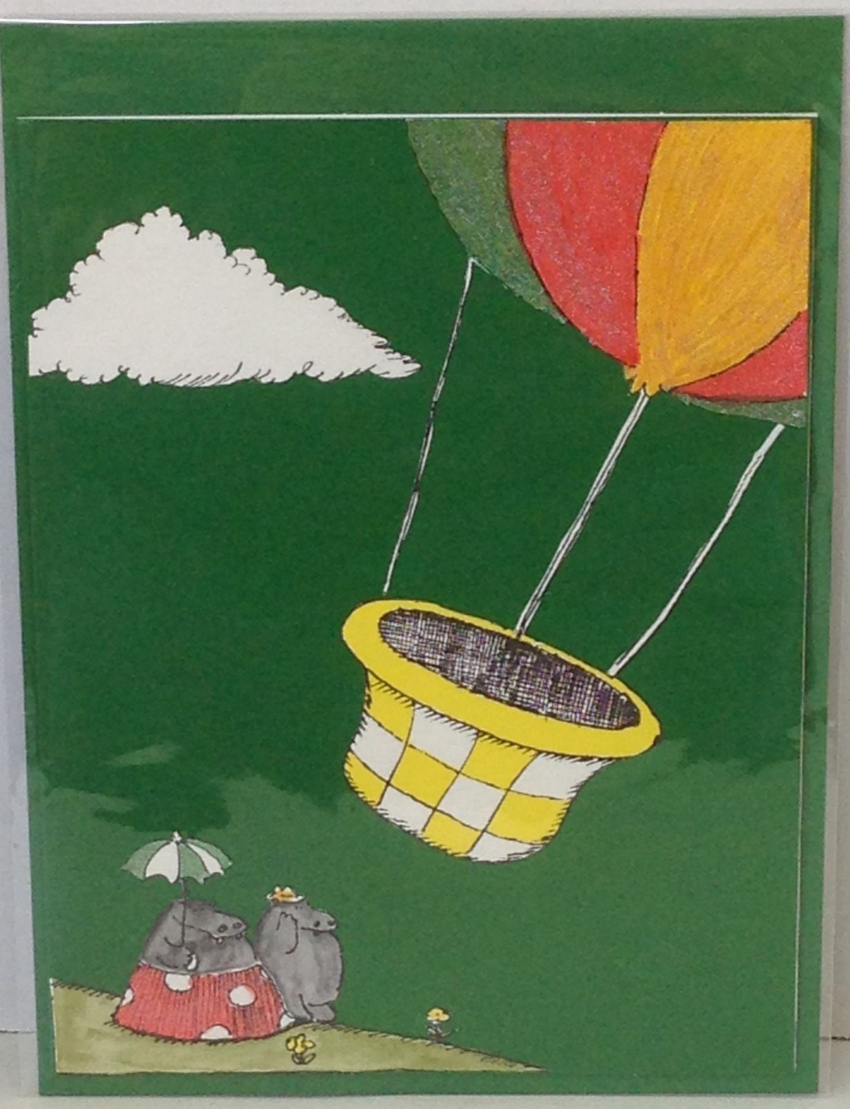 Children S Book Illustration Greeting Card James Marshall