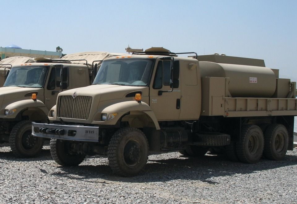 Navistar's International 7000 Series Afghanistan fuel