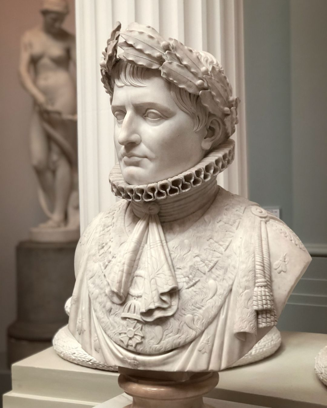Kaiser Bonaparte Tapijt Marble Bust Of Napoleon Bonaparte By An Unknown Italian Sculptor