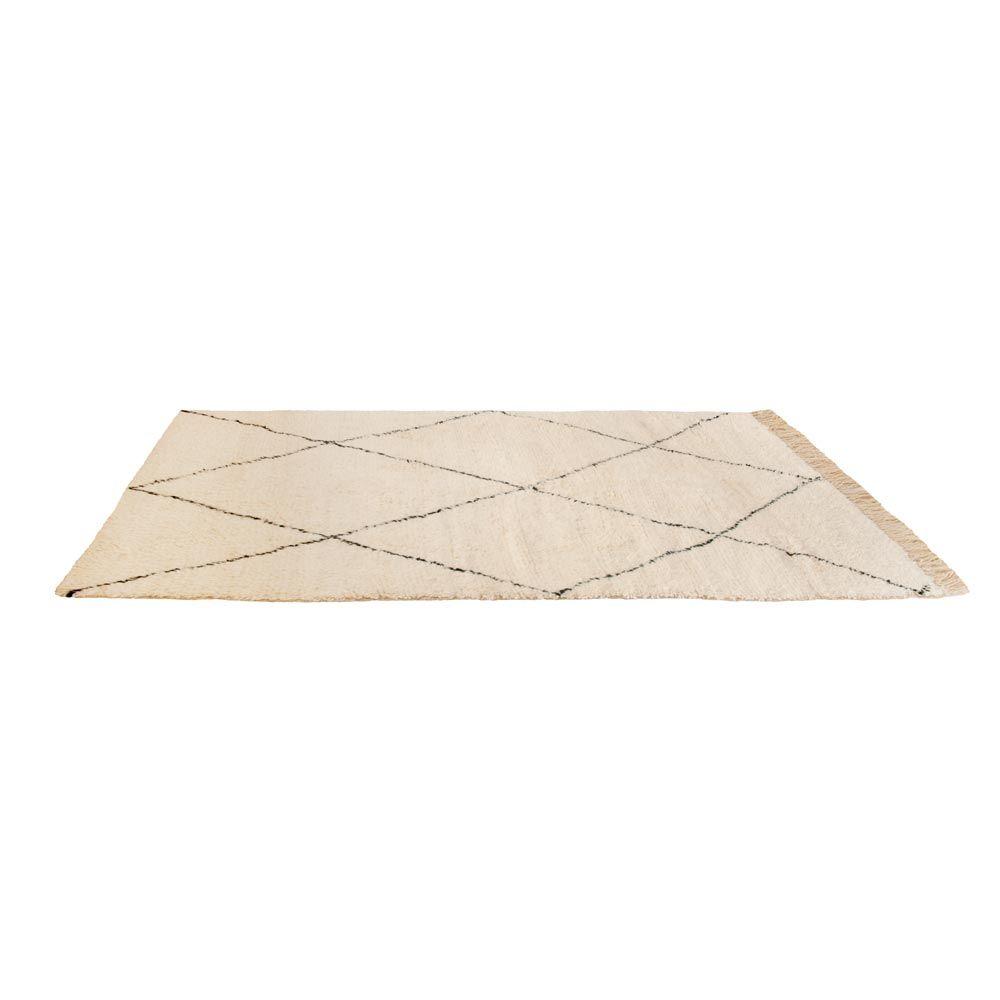 Marokkanischer Teppich Aus Wolle   Beni Ourain Teppich